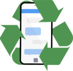 cell phone recycling symbol